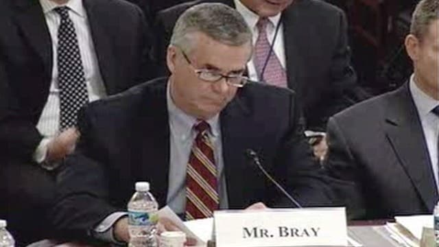 Air Marshal Service Director Robert Bray's pending retirement is being called by some a resignation over allegations he got free guns. (Photo credit: ABC News)