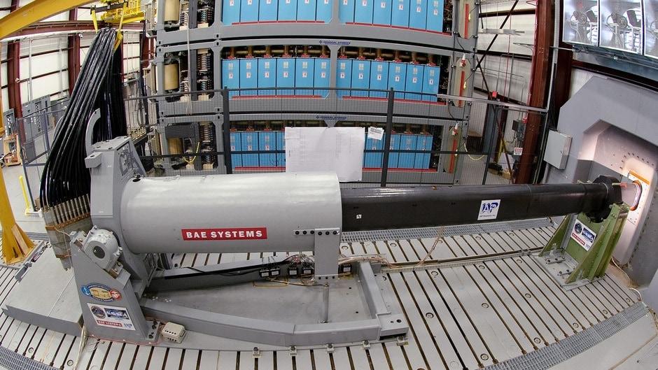 bae systems rail gun