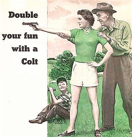Colt Woodman advertisement