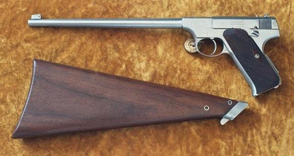 Colt Woodsman carbine
