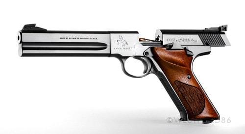An elegant Colt Woodsman shooter.