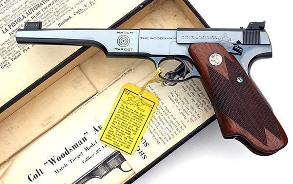 colt woodsman match target model