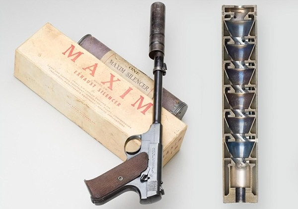 colt woodsman maxim silencer