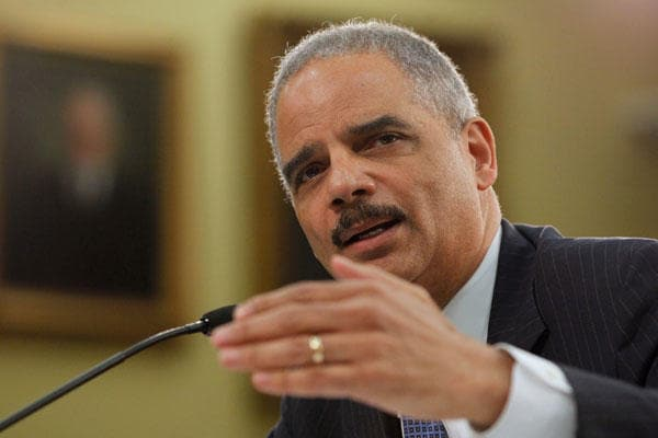 Attorney General Eric Holder delivered comments to a congressional committee last week about his smart guns. (Photo credit: AP)