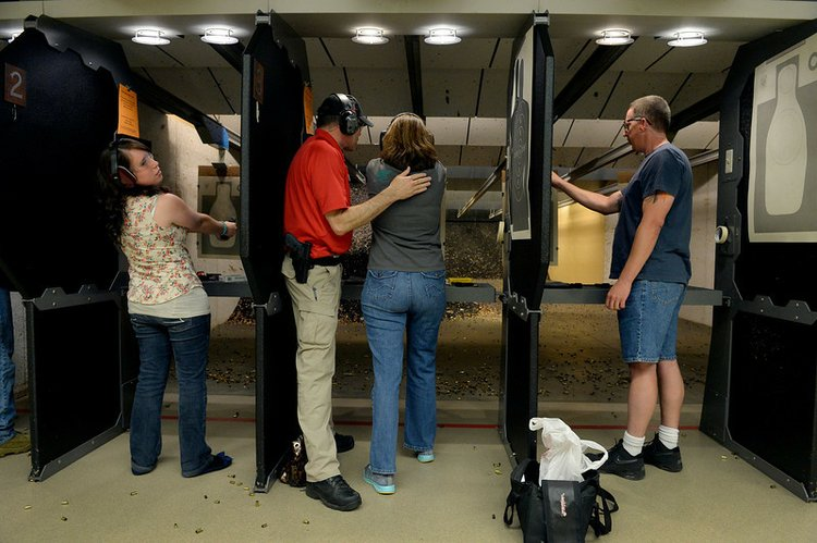 Illinois requires 16 hours of in-person training as a minimum, and many instructors who are offering portions online or not at all are finding themselves, and their students in hot water. (Photo credit: The Times Weekly)