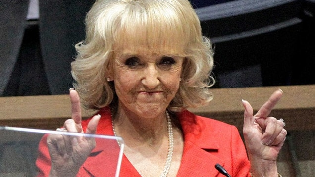 Gov. Jan Brewer has already signed one of four pro-gun bills sent to her desk this week. (Photo credit: Gawker)