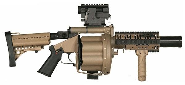 US M32 grenade launcher