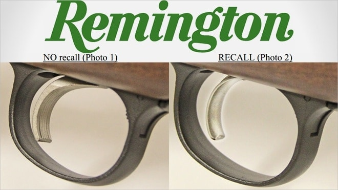 Remington issuing safety recall of select Model 700 and Seven rifles