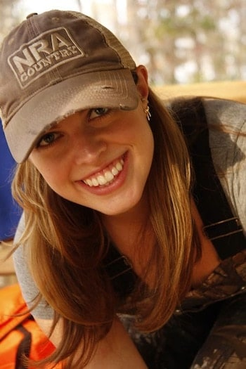 N. Stephanie Spika, an avid sportswomen, hunter and gun-rights activist.  (Photo credit: Facebook)