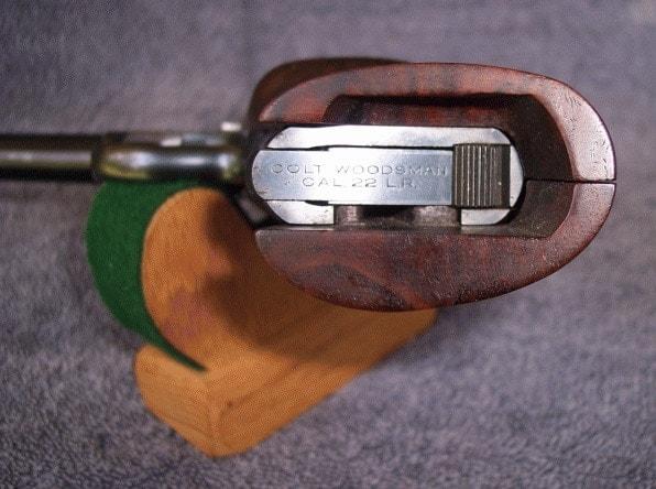 colt woodsman heel release