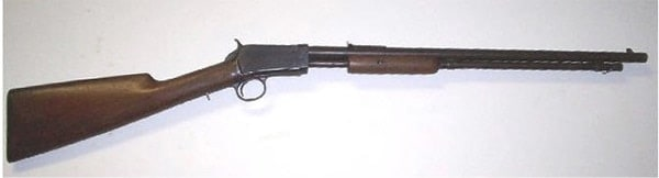 winchester 1890 pump action rifle