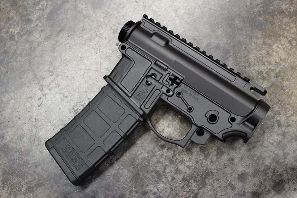 Check out this ultralight 'Balios-Lite' receiver set by 2A Armament