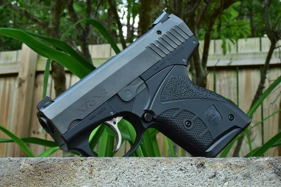 Compact firepower in an ergonomic package...from the future (Photo by Jim Grant)