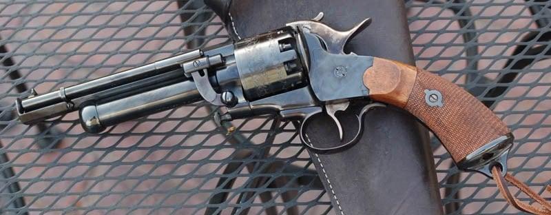 9 shots not enough for you? What if I throw in a 20 gauge shotgun? (Photo Credit: CWReenactors.com)
