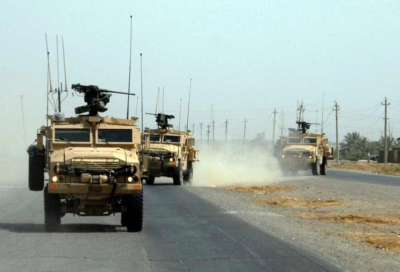 CROWS in Iraq (photo credit Wikimedia).