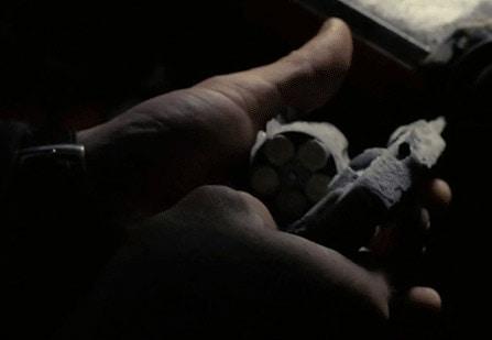 frozen ruger lcr revolver handgun