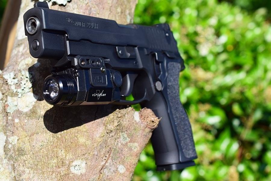 classic 22 plinker gun sitting on tree