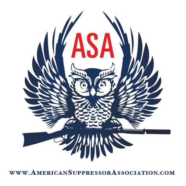 The new American Suppressor Association logo.