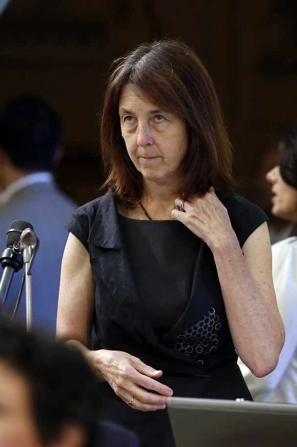 Assemblywoman Nancy Skinner, (D-Berkeley) is co-sponsor of a new Gun Violence Restraining Order bill in the California Assembly. (Photo credit: Rich Pedroncelli/AP)