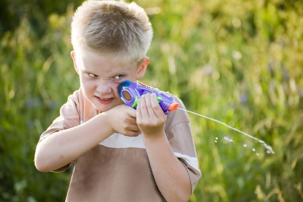 Residents of Lindsborg Kansas are being advised to dust off their supersoakers for a coming city water gun fight scheduled for May 30. (Photo credit: City of Lindsborg)