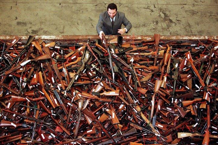Australian gun confication