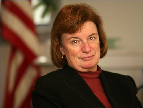 Rep. Carol Shea-Porter (D-NH) is one of the organizers of an open letter by House Dems calling for a vote on gun control measures. (Photo credit: AP)