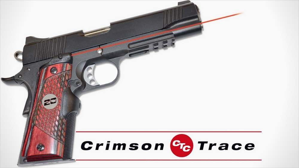 Crimson Trace celebrates its 20th with Master Series Lasergrips