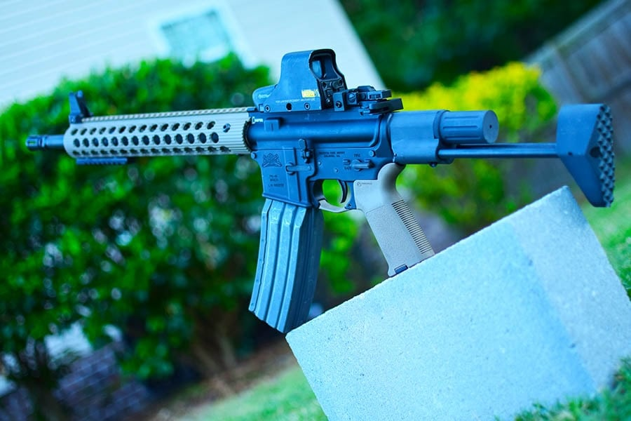 carbine rifle used for defending your home
