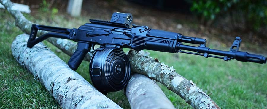 Even AK rifles make solid defensive carbines (Photo by Jim Grant)