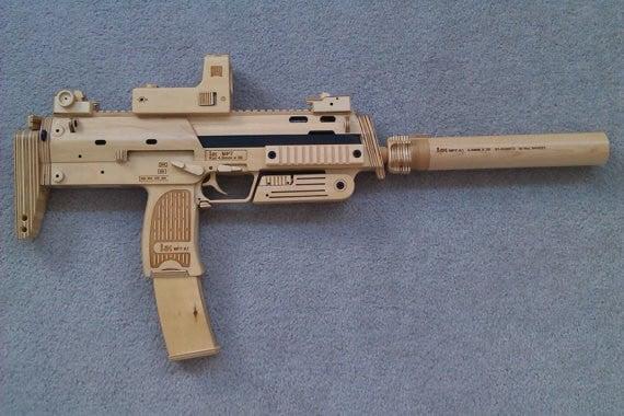 HK MP5 suppressed