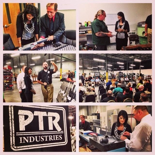 Nikki Haley at PTR Industries