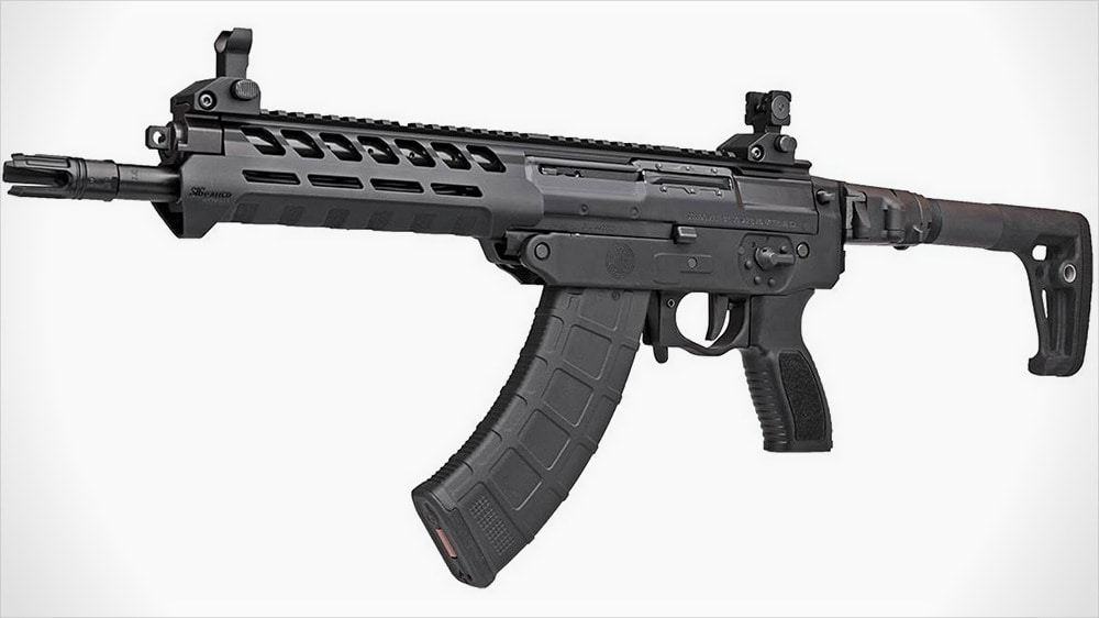 SIG 556xi Russian cover