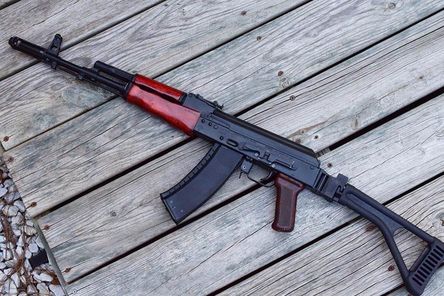 Tapco furniture on an Arsenal AK
