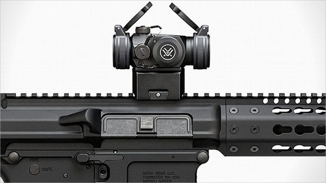 aimpoint micro t-2 and vortex sparc ii