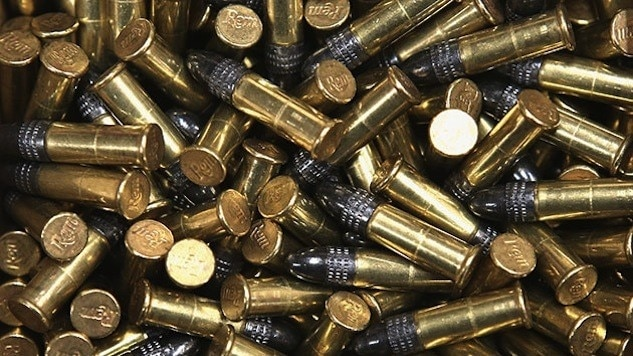 A pile of .22-caliber bullets.