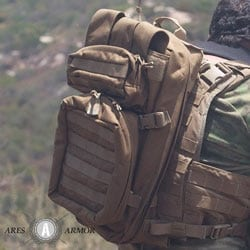 Combat medical pack (photo: Ares Armor).