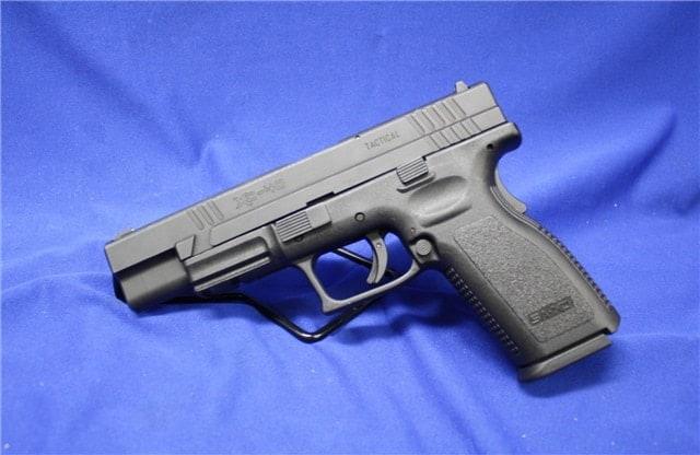 The XD is a good loking gun, but it doesn't belong on the list. (Photo credit: handgunsforsaleguns.com)