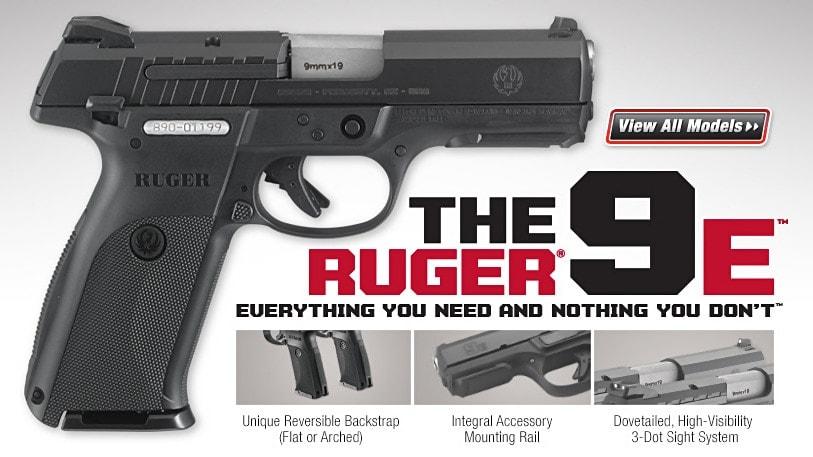 Meet The New, Even More Affordable Ruger 9E Pistol :: Guns com