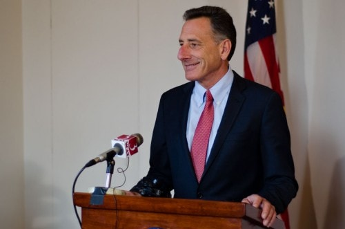 Gov. Peter Shumlin (Photo credit: Josh Larkin/VTD file)