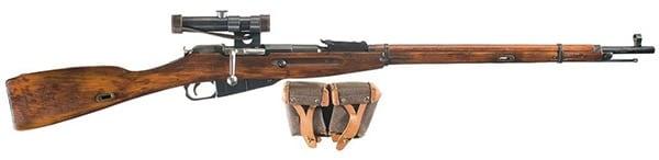 Mosin 91/30 rifle