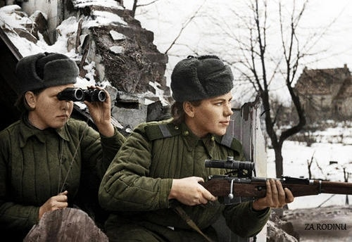 soviet female snipers