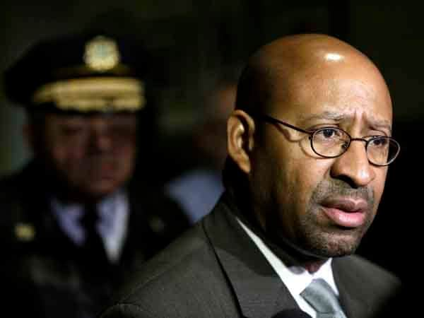 There is no official statement from Philadelphia Mayor Michael Nutter (D) on the news of the City's agreement to settle a class action lawsuit from concealed carry applicants for $1.425 million Tuesday. (Photo credit: Matt Rourke/AP)