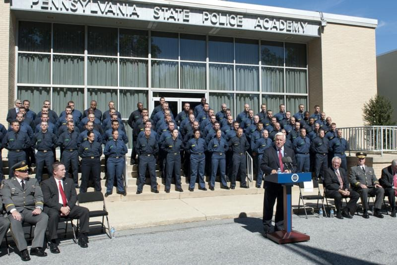 The Pennsylvania State Police Academy