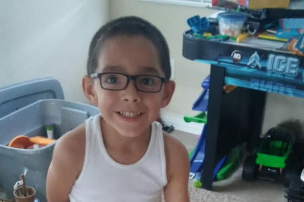 According to his mother, Davien loves to play outside and ride his bike, as well as make paper airplanes, color and do puzzles. (Photo credit: Go Fund Me)