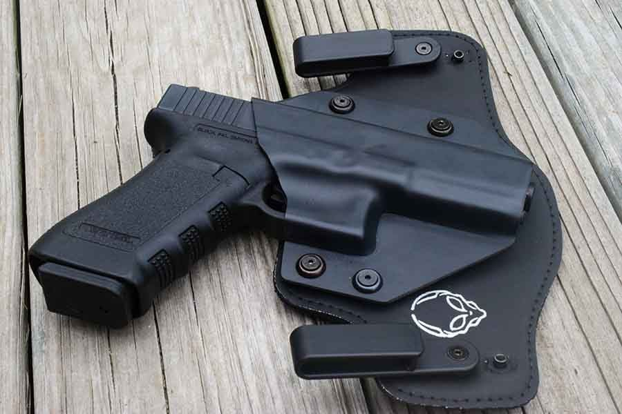 Alien Gear makes holsters for nearly every firearm currently made. (Photo by Jim Grant)