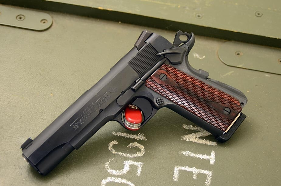 This pistol is one of the better renditions of the Colt Government Model. (Photo by Sean Hatten)