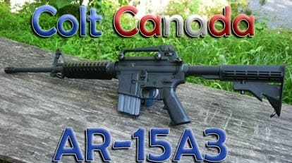 Colt Canada's AR-15A3 is sweeter than maple syrup