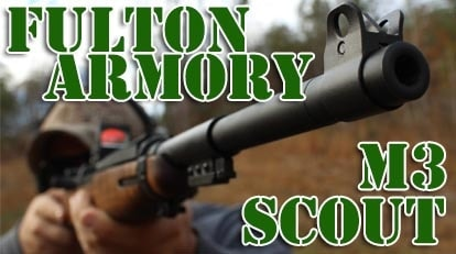 Fulton Armory's M3 Scout, a new take on an old favorite (VIDEO)