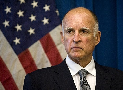 California Gov. Jerry Brown (D) signed AB 2300 this week without comment, which will allow the state's firearm and prohibited persons databases to better share information.  (Photo credit: Westside today)