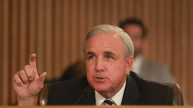 Miami-Dade Mayor Carlos Gimenez wants to trim the county's budget just a little. (Photo credit: Peter Andrew Bosch/Miami Herald)
